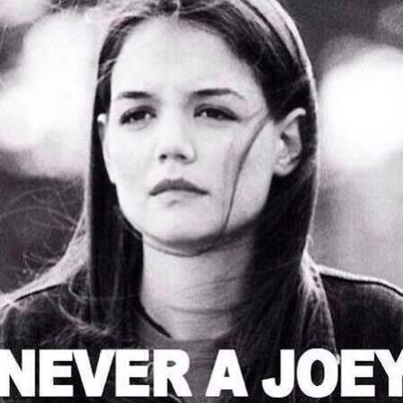 never a joey